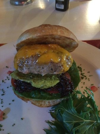 "The Grillroom: the ""cheese burger"""
