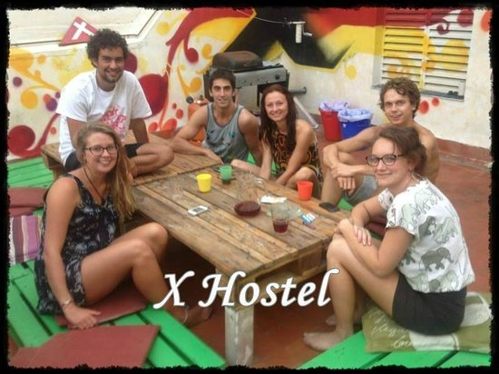 X Hostel Alicante: Our terrace
