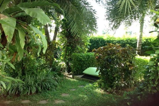Dreams Villa Resort: quiet spot in the garden