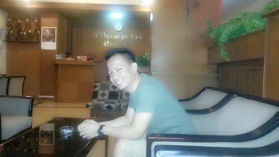 Cihampelas Hotel 2: ini di lobby hotel