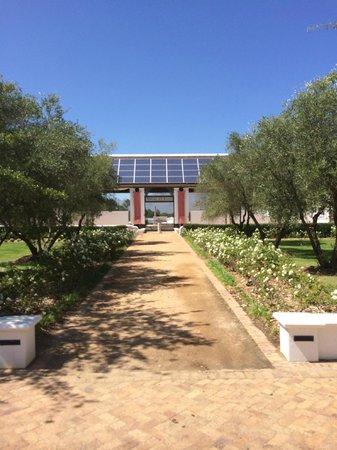Vrede en Lust Winery: entrance