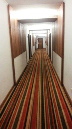 Hotel Saint George : Pasillos principales