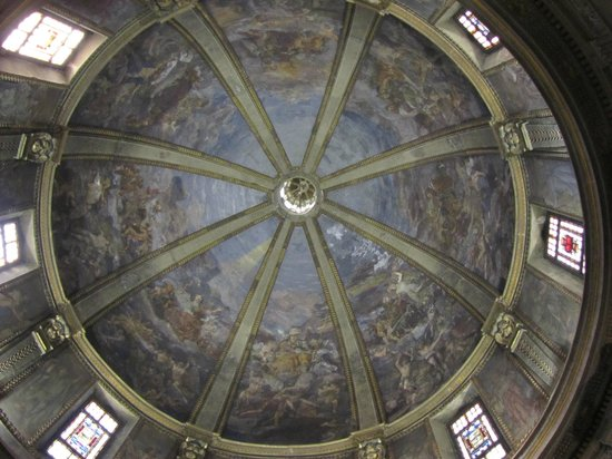 Civico Tempio di San Sebastiano : cupola