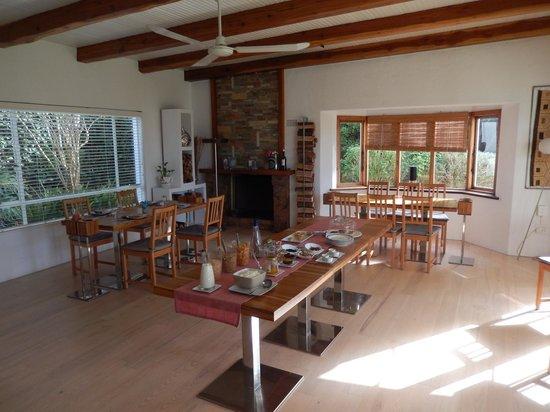 La Sosta Restaurant : Inside restaurant