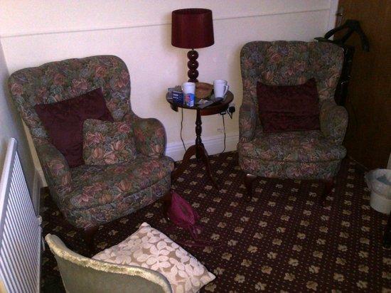 Cornerways Guesthouse : sitting room