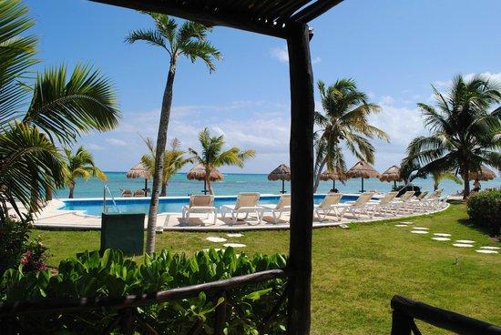 PavoReal Beach Resort Tulum: Vista dalla camera