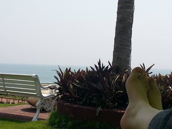 Mayfair Palm Beach Resort: view from the deck