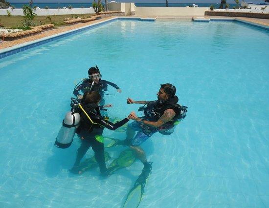 Thresher Cove Dive Resort: Dive Training