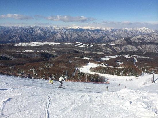 Hunter Mt. Shiobara : 山頂付近からの眺め