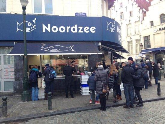 Noordzee Mer du Nord: вот такая свободная атмосфера