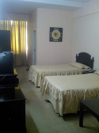 Savanna Inn: Twin Beds