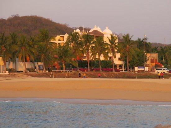 Hotel Villablanca Huatulco : Playa Chahue