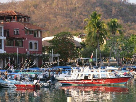 Villa Blanca Huatulco: Marina de Santa Cruz