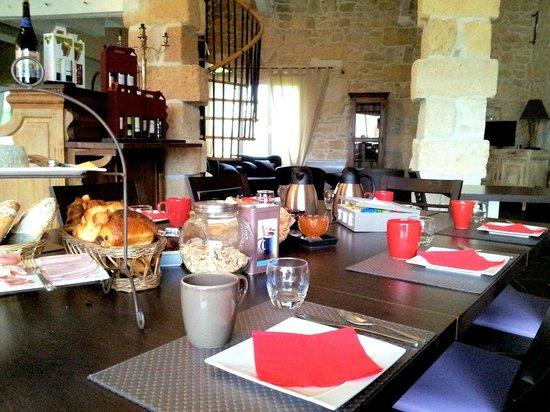 restaurant et chambre d'hôte : De ontbijttafel