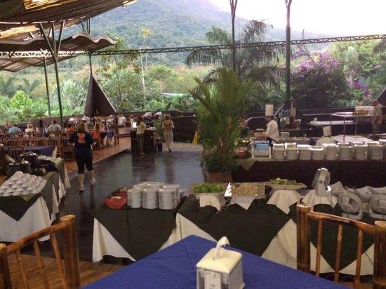 Baldi Hot Springs: Pyramid Restaurant