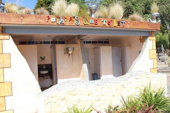 Paihia Harbour: Public restrooms in Paihia.