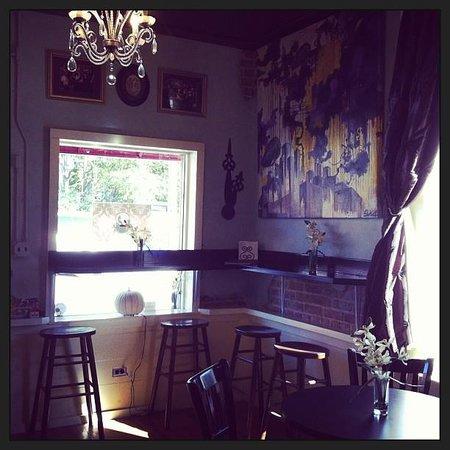 Davenport's Cafe Diem: The bar.
