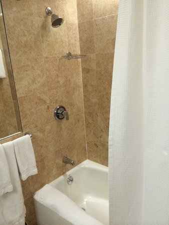 Omni Berkshire Place : Bathroom in an Executive Suite (#1822)