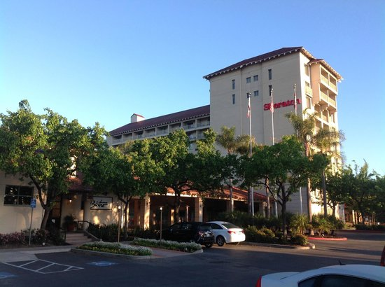 Sheraton San Jose Hotel: Sunrise over the Property
