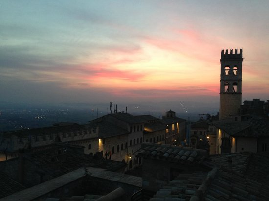 Hotel Restaurant Pallotta Assisi: Vista dalla torretta
