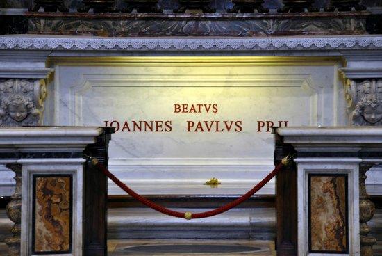Basilique Saint-Pierre : Tumba Juan Pablo II