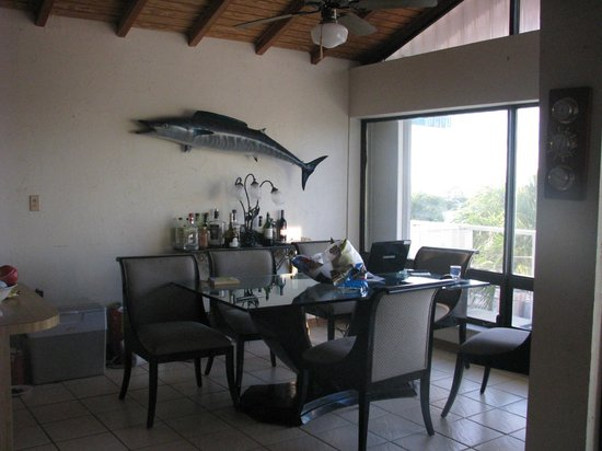 Kawama Yacht Club: Dining area
