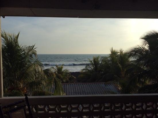 Hotel Suyapa Beach : view from balcony