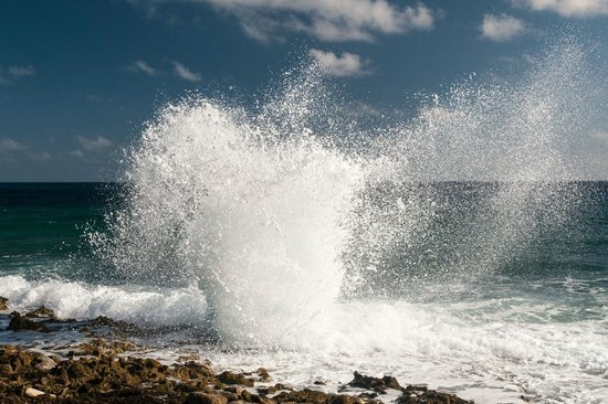 Blow Holes: Explosion of Water
