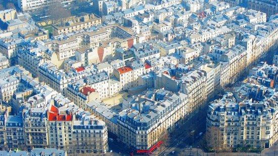 Eiffel Rive Gauche: Vista dell'Hotel dalla Tour Eiffel
