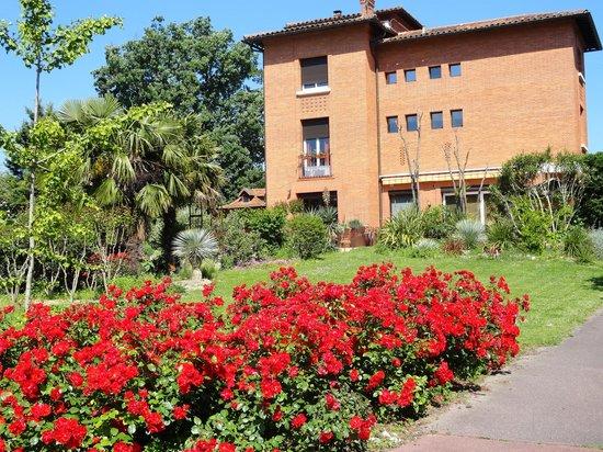 Villa Danieli with its stunning roses
