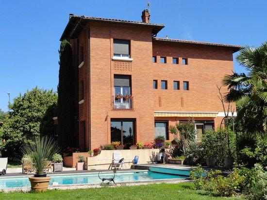 Villa Danieli : The villa and pool