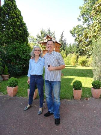 Villa Danieli : Our hosts, Daniele and Bernard