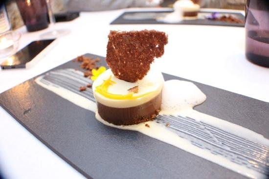 Restaurant Montiel: chocolate dessert