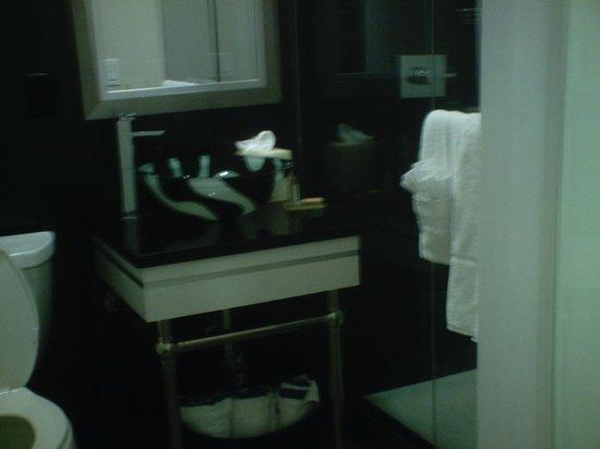 Lotus Boutique Inn & Suites Daytona Beach / Ormond Beach: glass bowl sink