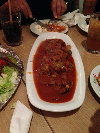 Cafe Rumist : Lamb testy kebab