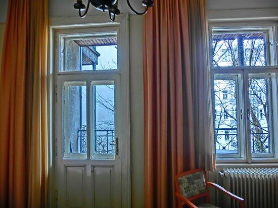 Hotel Zipser: Ausblick aus dem Zimmer