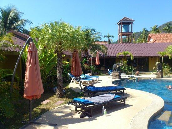 Kamala Tropical Garden Hotel: vue depuis la chambre