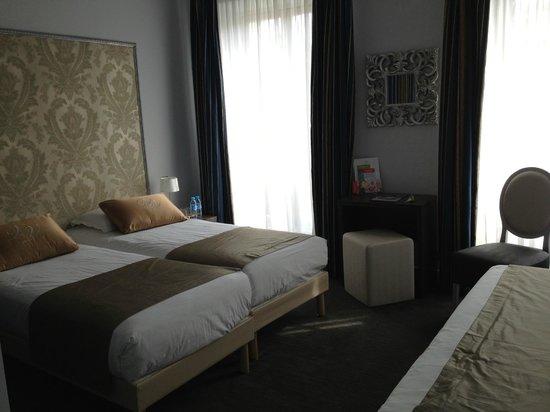 Hotel Villa Victoria : Schöne, geräumige Zimmer