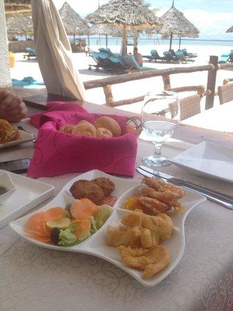 Essence Restaurant: antipasto di pesce