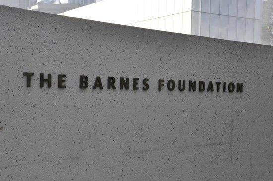 The Barnes Foundation: Logo