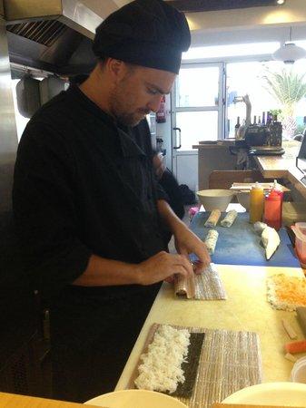 Sushi e : Fresh sushi - best chef :-)