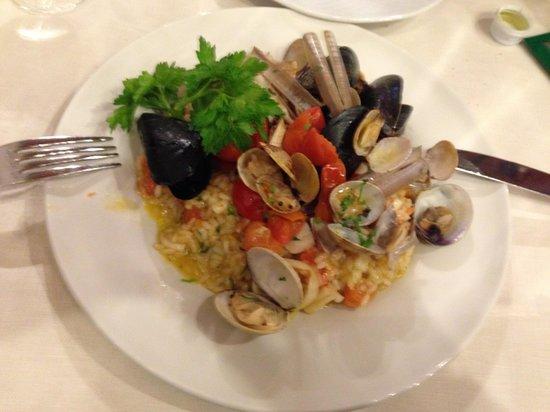 Ristorante Zi'Ntonio: Risoto de frutos do mar
