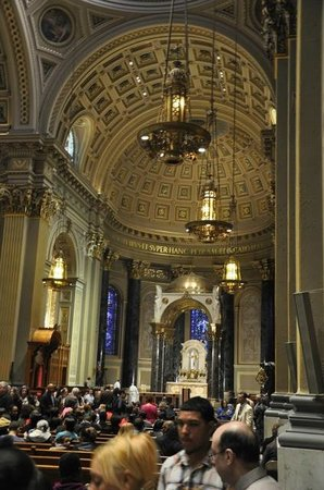 Cathedral Basilica of Saints Peter and Paul : Church