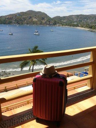 Hotel Irma: Vista desde la habitación