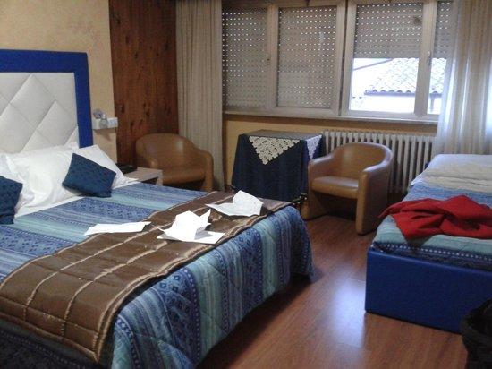 Hotel Gran Sasso: Stanza