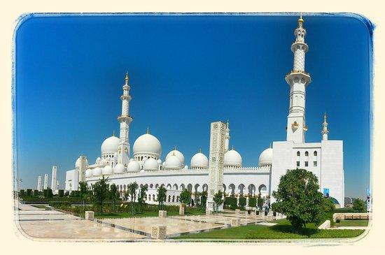 Mezquita Sheikh Zayed: SZGM