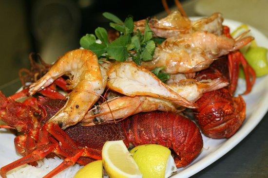 Steffanie's Place: Seafood Platter
