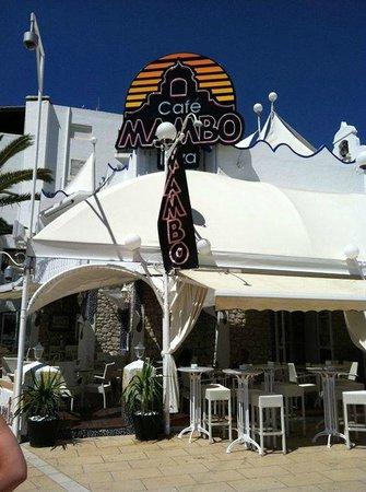 Cafe Mambo : Entrance