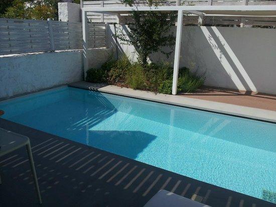 Patmos Aktis Suites & Spa: Privater Pool zu Maisonette