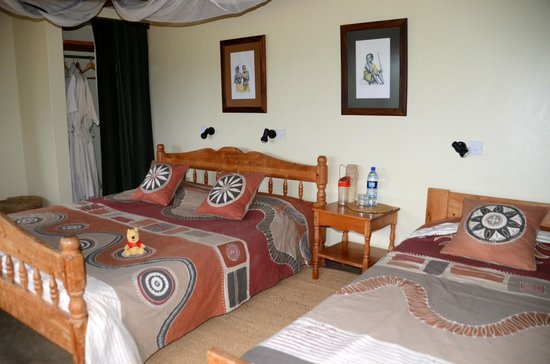 Tarangire Safari Lodge: Unser Bungalow